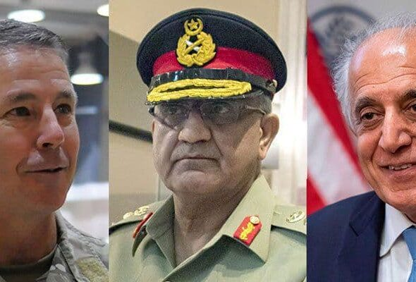 Khalilzad, Gen. Miller, Pakistan's COAS Discuss Afghan Peace, Security Situation