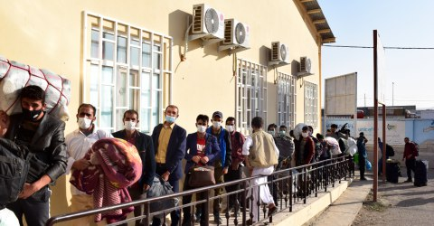 Explosion on Islam Qala Border Damages IOM Reception Centre, Stalls Services to Afghan Returnees