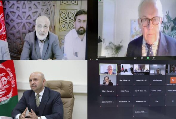 IRA Peace Negotiations Team Holds Virtual Talks with Special Representatives Of NATO Member States