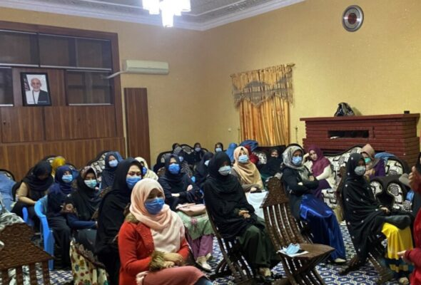 Afghan Women Must Play leading Role in Peace Process: UN