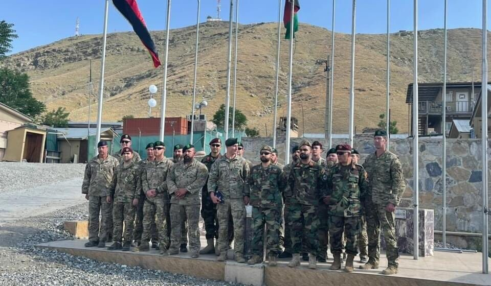 Afghan Commandos Officially Takeover Camp Morehead As US Withdrawal Is 12% Complete