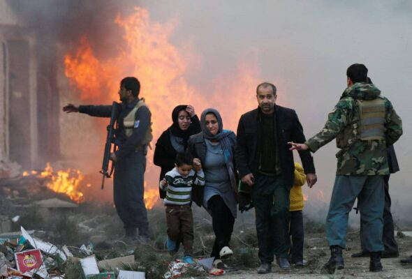 Despite Progress In Peace Talks Surging Violence In Afghanistan Raises Concerns