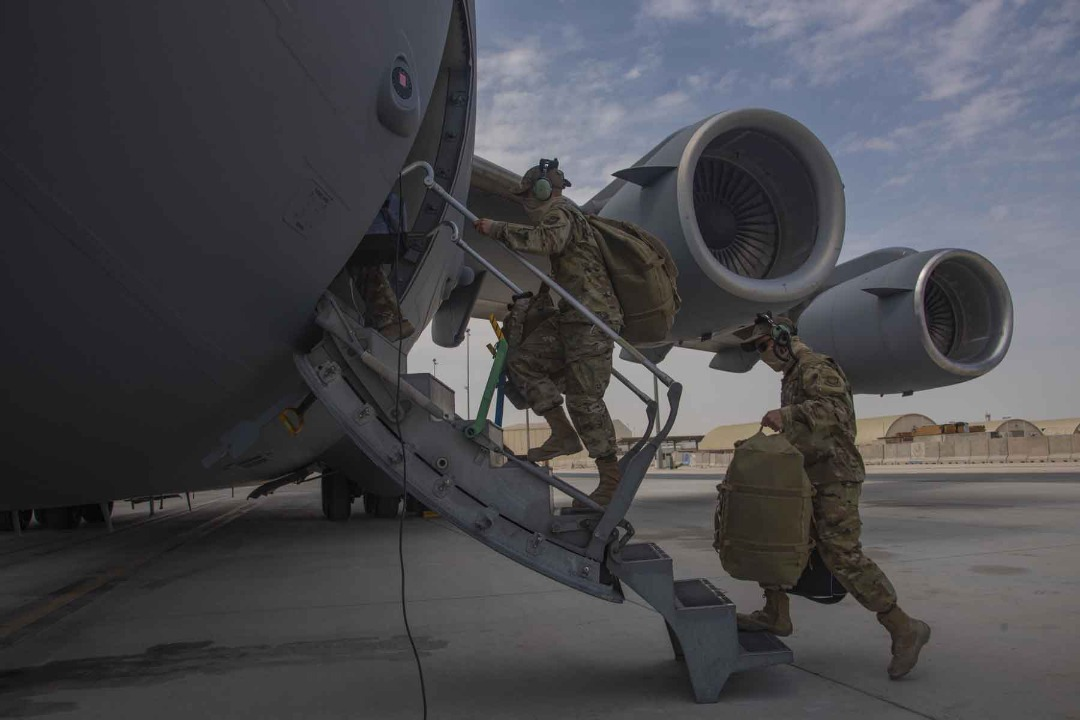 Afghanistan Withdrawal 50% Complete: US